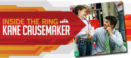 Inside the Ring with Kane Causemaker