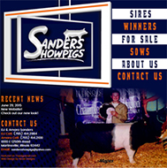 New Site: Sanders Show Pigs