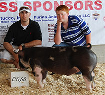 LaBette Co. Prospect Pig Show Results